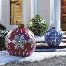 the 25 best large outdoor christmas decorations ideas on
