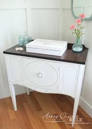 sideboard makeover w java gel u0026 chalk paint themed furniture