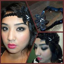 flapper headband diy great gatsby 1920 s flapper tutorial diy vintage inspired