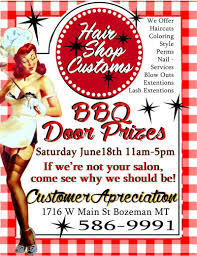 customer appreciation day 06 18 2016 bozeman montana hair shop
