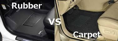 Change Car Upholstery Rubber Vs Carpet Car Floor Mats Partcatalog Com