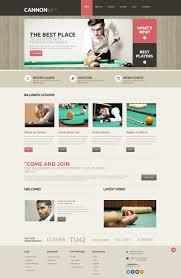billiards responsive wordpress theme 48603