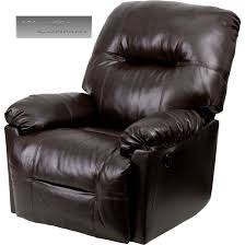 new brown leather power recliner lazy boy reclining chair