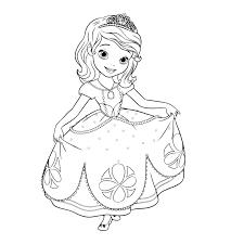 jogo desenhos para colorir da princesa sofia u2013 disney para