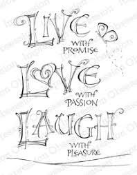live love laugh impression obsession live love laugh cling rubber st f15011 clg