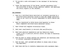 resume job description cna resume sample resume examples malaysia resume examples high