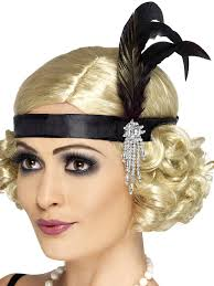 s headband black charleston headband wholesale flappers for kids and adults