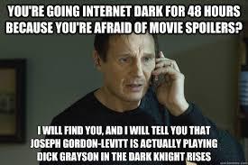 Joseph Gordon Levitt Meme - you re going internet dark for 48 hours because you re afraid of