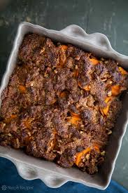 maple glazed yams with pecan topping recipe simplyrecipes