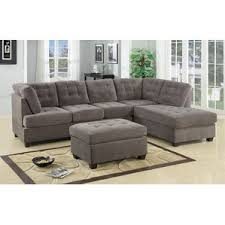 Contemporary Leather Sectional Sofa by Modern U0026 Contemporary Sectional Sofas You U0027ll Love Wayfair