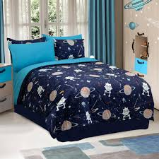 glow in the dark halloween pajamas glow in the dark galaxy invaders comforter set