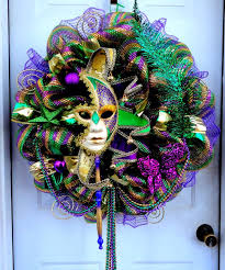 18 best images about mardi gras wreaths on