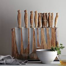 cool knife block schmidt brothers 15 piece downtown block specialty knives