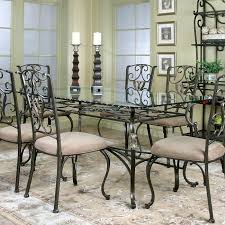 Rectangle Glass Dining Room Tables Wescot Rectangular Glass Dining Table Cramco Furniturepick