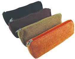 pencil pouches jute zippered pencil pouch supplier of jute zippered pencil pouch