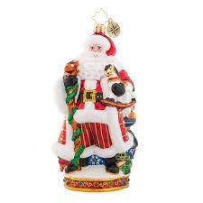 Shiny Brite Halloween Ornaments Christopher Radko It U0027s Christmas Time Signing Ornament 2017