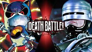 robocop electrocutes himself youtube death battle metal sonic vs robocop by lordofkrakens on deviantart