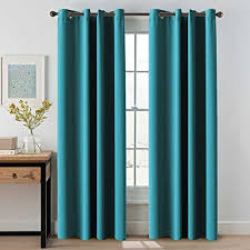 Teal Curtain Blackout Curtains Co Uk