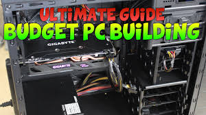 best cheap gaming pcs gamer u0027s budget building guide 2017