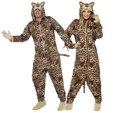 leopard halloween costume animal onesie fancy dress mens ladies halloween book