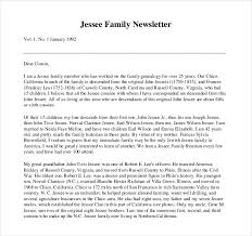 8 great microsoft publisher newsletter templatesfamily newsletter