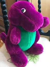 original dakin plush barney the dinosaur 10
