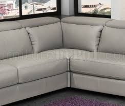 Gray Leather Sectional Sofa by Sectional Sofa In Ash Gray Italian Leather By J U0026m