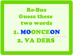 rebus guess these words from the hints bhavinionline com