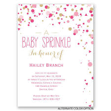 baby shower invitations bright sprinkles baby shower invitation invitations by