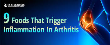 9 most harmful foods that promote inflammatory arthritis