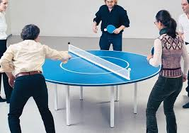 tabletop ping pong table round ping pong table