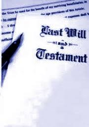 how to write a will that is legally binding
