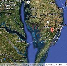 Ocean City Md Map Maryland Land Access Battle Whose Job Is It To Protect Public