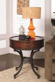 How To Make A Round End Table by Diy Round End Table