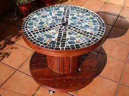 outdoor mosaic accent table decorating diy mosaic tiles mosaic accent table outdoor mosaic table