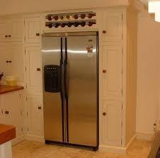 wine rack cabinet over refrigerator over the refrigerator ideas american fridge housing with wine rack