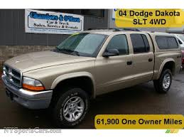dodge dakota crew cab 4x4 for sale 2004 dodge dakota slt cab 4x4 in light almond pearl metallic