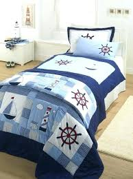 Nautical Bed Set Beachy Bedding Sets Kulfoldimunka Club
