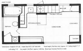 tiny floor plans unique of 8x16 tiny house plan gallery home house floor plans