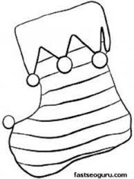 christmas stockings coloring pages 81177 label blank christmas