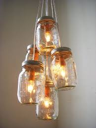 How To Mason Jar Chandelier 200 Upcycling Ideas That Will Blow Your Mind Mason Jar