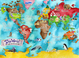 Huge World Map by World Map Poster Kredi Notu