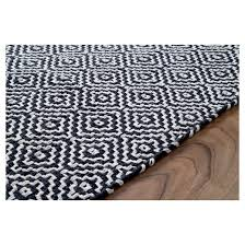 Hand Loomed Rug Nuloom Cotton Hand Loomed Diamond Cotton Check Rug Target
