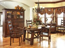 gray transitional dining room with wood farmhouse table a dining english country dining room