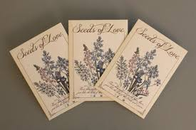 seed packets wedding favors diy seed packet wedding favors the budget savvy