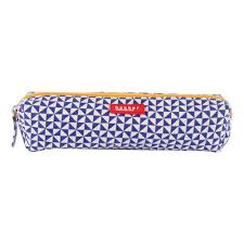 sac bakker made with love canvas sails pencil case navy blue bakker made with love fashion