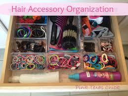 hair accessories organizer pink organizing da hair accessories my house