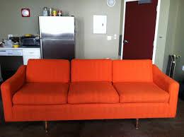 Orange Sofa Bed by Orange Sofa Living Room Ideas Wonderful Creative Furniture Leather