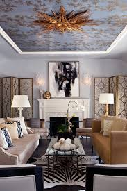 Ceiling Treatment Ideas by Cathedral Ceiling Decorating Ideas Living Room Transitional With
