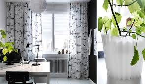 Whote Curtains Inspiration Ikea Curtains Inspiration With Soft Touch Home Design And Interior